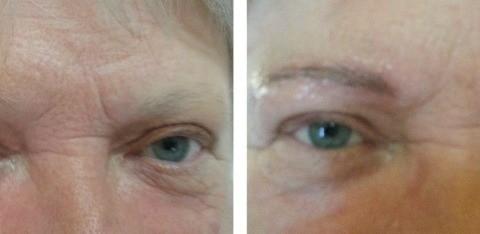 Makijaż brwi po chemioterapii